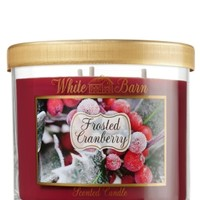 14.5 oz. 3-Wick Candle Frosted Cranberry