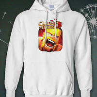 Clash of Clans my hoodie black and white