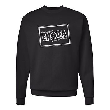 "Harry Styles ""Greetings from Eroda"" Crew Neck Sweatshirt (Sizes 3XL-5XL)"