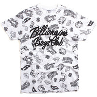 Galaxy Allover T-Shirt White