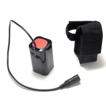 LED Light Bicycle Head Lamp 8.4V USB Rechargeable 6400mAh Lithium Battery 4x18650 Battery Pack 3 Hours Highlight For T6