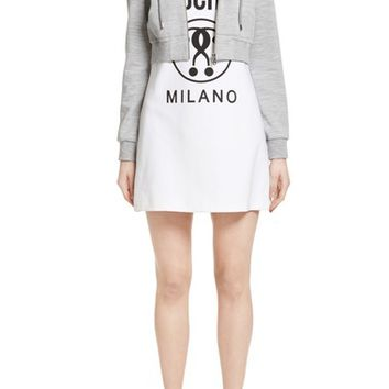 Moschino Logo T-Shirt Dress with Attached Jacket | Nordstrom