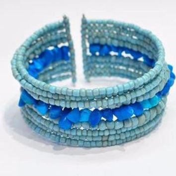 The Bali Blue Bracelet
