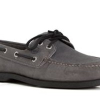Sperry Top-Sider Authentic Original 2 Eye Echo Grey Boat Shoe for Men STS10592