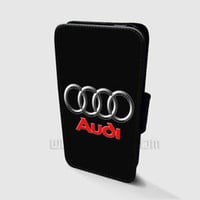 Audi Wallet iPhone Cases Audi Samsung Wallet Leather Phone Cases
