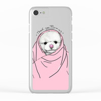Thank You Mommy Clear iPhone Case by lostanaw