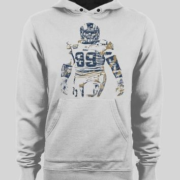 LOS ANGELES RAM'S AARON DONALD SPLASH ART WINTER HOODIE/ SWEATER