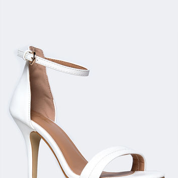 Best White Ankle Strap Heel Products on Wanelo