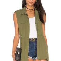 1. STATE Patch Pocket Vest in Cypress