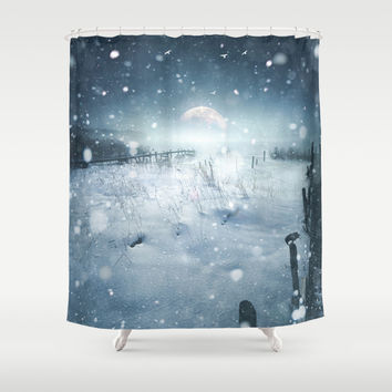 When she turned on me Shower Curtain by HappyMelvin | Society6