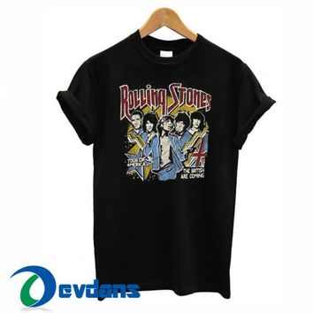 The Rolling Stones T Shirt Women And Men Size S To 3XL