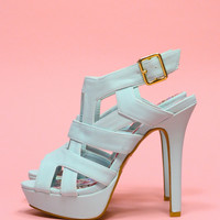 Caged In Heel - Mint