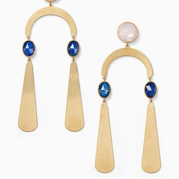 sunshine stones mobile statement earrings
