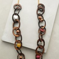 Woodlink Necklace by Anthropologie Brown One Size Necklaces