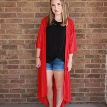 Candy Apple Red Duster