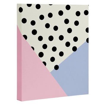 Allyson Johnson Mod Rose Pink Art Canvas