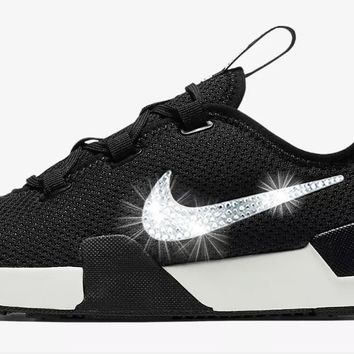 Nike Ashin Modern Run + Crystals - Black/White