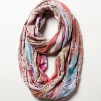 Paisley Parasol Infinity Scarf