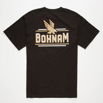 Bohnam Swale Mens T-Shirt Black  In Sizes