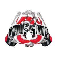 Nike Vapor Jet 3.0 On-Field (Ohio State) Men's Football Gloves