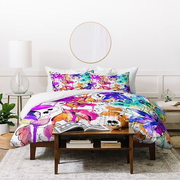 Holly Sharpe Lost In Botanica 1 Duvet Cover