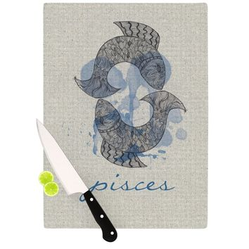 "Belinda Gillies ""Pisces"" Cutting Board"