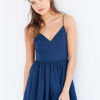 Kimchi Blue Strappy-Back Fit + Flare Romper - Urban Outfitters