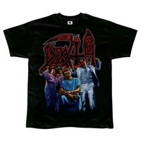 Death - Mens Spiritual Healing T-shirt Medium Black