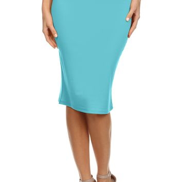 WELCOME TO THE OFFICE PENCIL SKIRT - PLUS SIZE