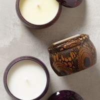 Voluspa Japonica Mini Candle Trio in Black Size: Set Of 3 Candles