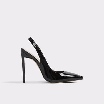 Haughton Black Patent Women's Pumps | Aldoshoes.com US