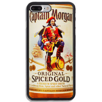 Top Captain Morgan Spiced Gold Rum Hard Case For iPhone 6 6s 7 8 Plus X Cover +