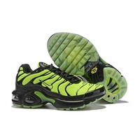 Nike Air Max Plus Black Green Child Sneaker Toddler Kid Shoes - Best Deal Online