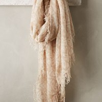 Katinka Scarf by Anthropologie Sand One Size Scarves