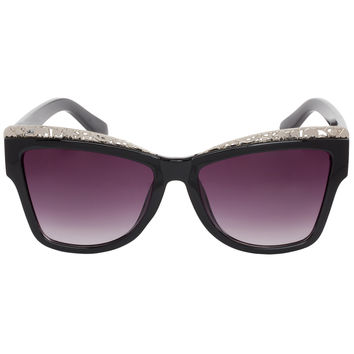 Jungle Babe Sunglasses in Silver