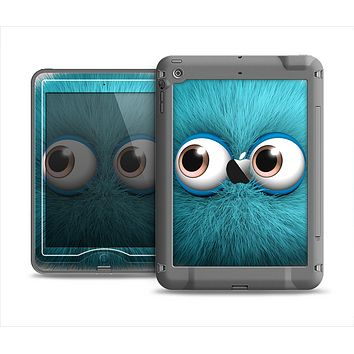 The Teal Fuzzy Wuzzy Apple iPad Mini LifeProof Nuud Case Skin Set