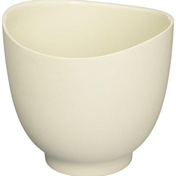 iSi Basics Flexible Silicone Mixing Bowl, One Quart, White