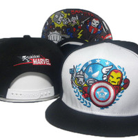 TokiDoki Marvel Avengers Snap-back Cap for Adults