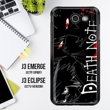 Death Note Anime Z0463 Samsung Galaxy J3 Emerge, J3 Eclipse , Amp Prime 2, Express Prime 2 2017 SM J327 Case