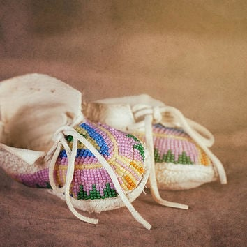 Native American Baby Shoes