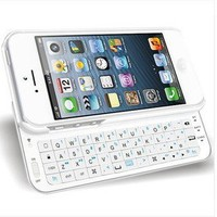 Sliding Bluetooth Wireless Keyboard Case Cover Iphone 4/4s/5