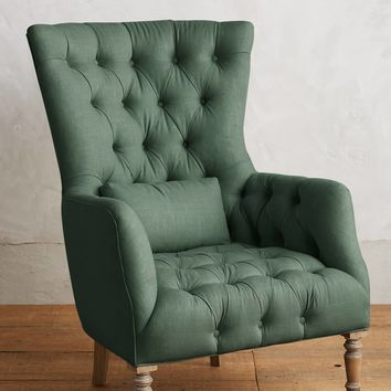 Linen Julienne Chair