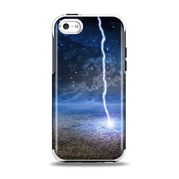 The Energy Planet Discharge Apple iPhone 5c Otterbox Symmetry Case Skin Set