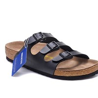 Men's and Women's BIRKENSTOCK sandals Florida Soft Footbed Birko-Flor 632632288-062