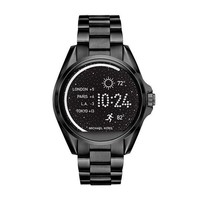 ESBWA2 Michael Kors Access Unisex 45mm Black IP Bradshaw Chronograph Smart Watch