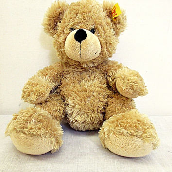 Vintage Steiff Original Light Brown Furry Brown Bear