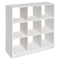 Badger Basket 9-Cube Storage Unit - White
