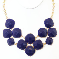 Navy Middleton Necklace Set