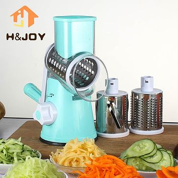 Multifunctional Manual Vegetable Spiral Slicer Chopper Mandoline Slicer Cheese Grater Clever Vegetable Cutter Kitchen Tools-K1