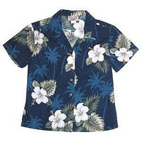 hilo hawaiian lady blouse